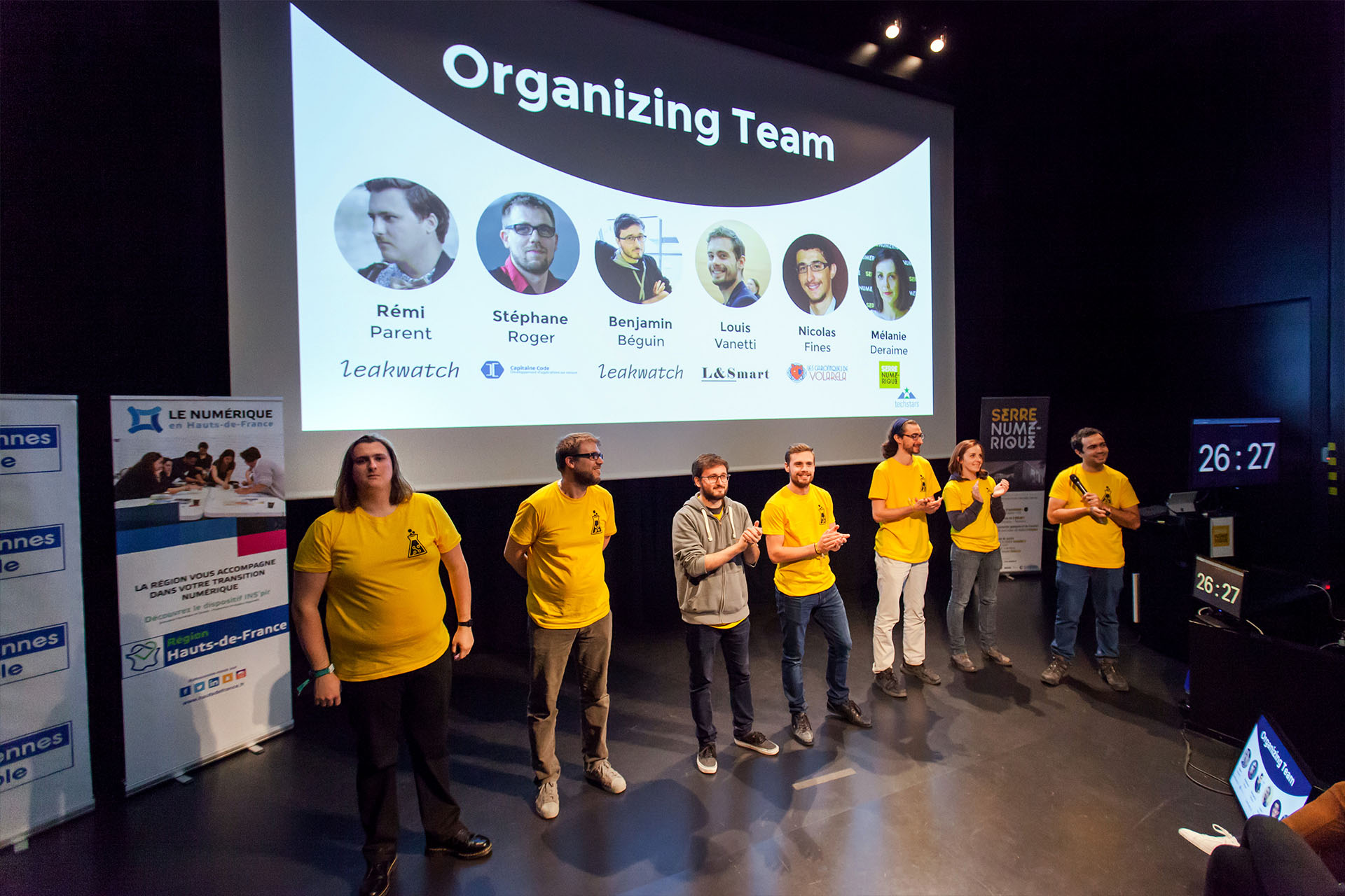 The organizing team, without them nothing would have been possible